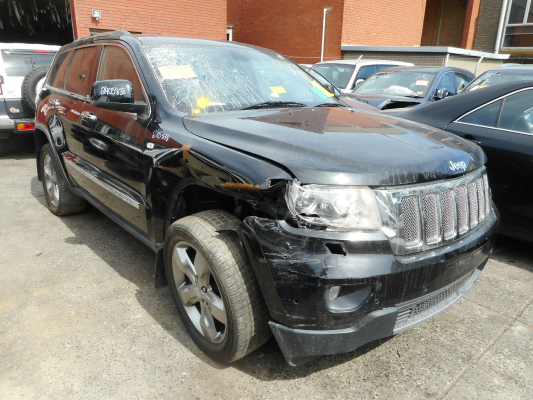 2011 JEEP GRAND CHEROKEE WK LIMITED (4x4) 5 SP AUTOMATIC 3.6L MULTI POINT