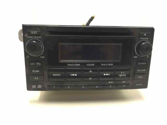 2014 SUBARU FORESTER MY14 2.5I CONTINUOUS VARIABLE 2.5L MULTI POINT F/INJ COMPACT DISC PLAYER