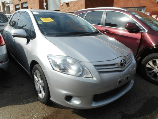 2012 TOYOTA COROLLA ZRE152R MY11 ASCENT 4 SP AUTOMATIC 1.8L MULTI POINT F/INJ BONNET