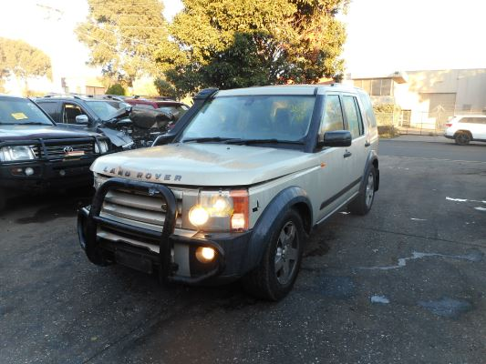 2006 LAND ROVER DISCOVERY 3 MY06 UPGRADE SE 6 SP AUTOMATIC 2.7L DIESEL TURBO F/INJ WIPER MOTOR FRONT