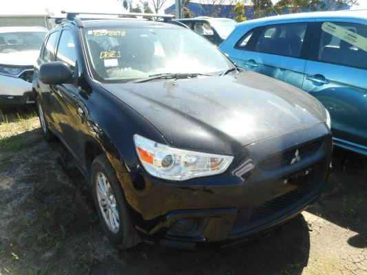 2012 MITSUBISHI ASX XA MY12 (2WD) CONTINUOUS VARIABLE 2.0L MULTI POINT F/INJ COMPLETE VEHICLE