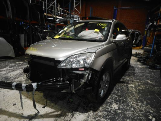 2007 HONDA CRV (4x4) MY07 LUXURY 5 SP AUTOMATIC 2.4L MULTI POINT F/INJ TOWBAR