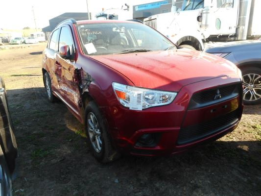 2011 MITSUBISHI ASX XA (2WD) CONTINUOUS VARIABLE 2.0L MULTI POINT F/INJ SIDE SKIRT LEFT