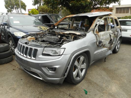 2014 JEEP GRAND CHEROKEE WK MY14 OVERLAND (4x4) 8 SP AUTOMATIC 3.0L DIESEL TURBO F/INJ SHOCK ABSORBERS REAR LEFT