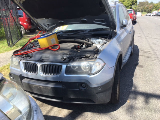 2005 BMW X3 E83 2.5i 6 SP MANUAL 2.5L MULTI POINT F/INJ ALTERNATOR