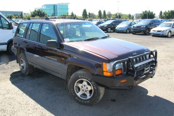 1997 JEEP GRAND CHEROKEE ZG LAREDO (4x4) 4 SP AUTOMATIC 4x4 4.0L ELECTRONIC F/INJ TAIL LIGHT LEFT
