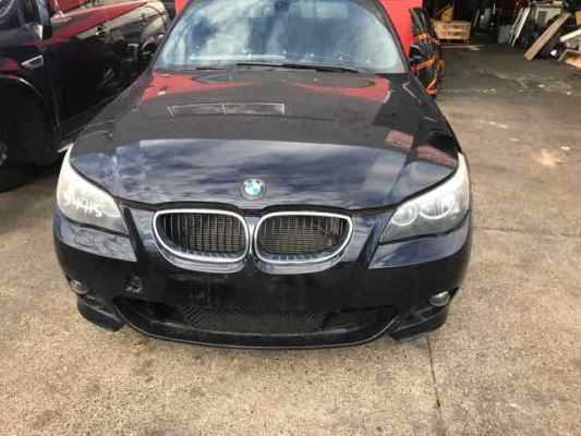 2005 BMW 5 E60 05 UPGRADE 25i SPORT 6 SP AUTOMATIC STEPT 2.5L MULTI POINT F/INJ DOOR LR