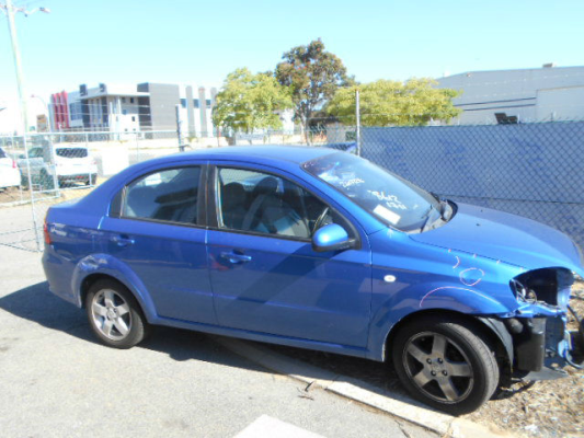2007 HOLDEN BARINA TK MY07 4 SP AUTOMATIC 1.6L MULTI POINT F/INJ DOOR RR