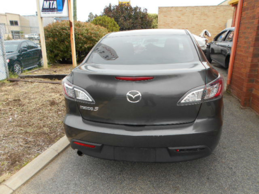 2010 MAZDA MAZDA3 BL NEO 5 SP AUTOMATIC 2.0L MULTI POINT F/INJ BOOT/TAILGATE LIGHT RIGHT