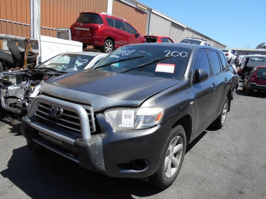 2007 TOYOTA KLUGER GSU45R KX-R (4x4) 7 SEAT 5 SP AUTOMATIC 3.5L MULTI POINT F/INJ ELECTRIC WINDOW SWITCH MASTER UNIT