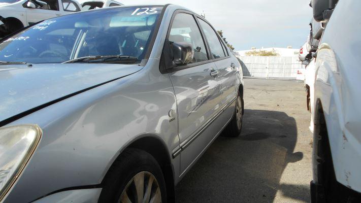 2006 MITSUBISHI LANCER CH MY06 ES 4 SP AUTO SPORTS MODE 2.4L MULTI POINT F/INJ DOOR LF