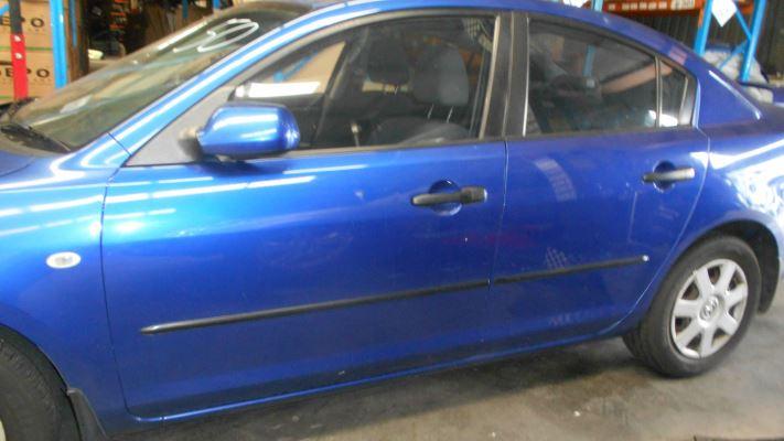 2007 MAZDA MAZDA3 BK MY06 UPGRADE NEO 4 SP AUTO ACTIVEMATIC 2.0L MULTI POINT F/INJ BOOT LID
