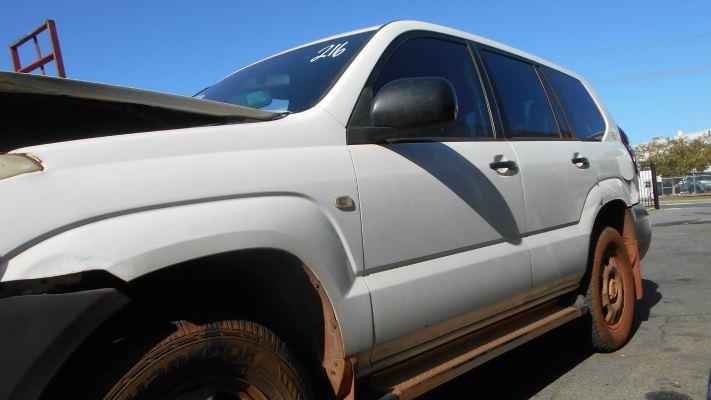 2005 TOYOTA LANDCRUISER KZJ120R PRADO GX (4x4) 4 SP AUTOMATIC 3.0L DIESEL TURBO F/INJ TAILGATE