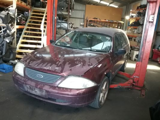 2001 FORD FALCON AUII FORTE 4 SP AUTOMATIC 4.0L MULTI POINT F/INJ STUB AXLE LF