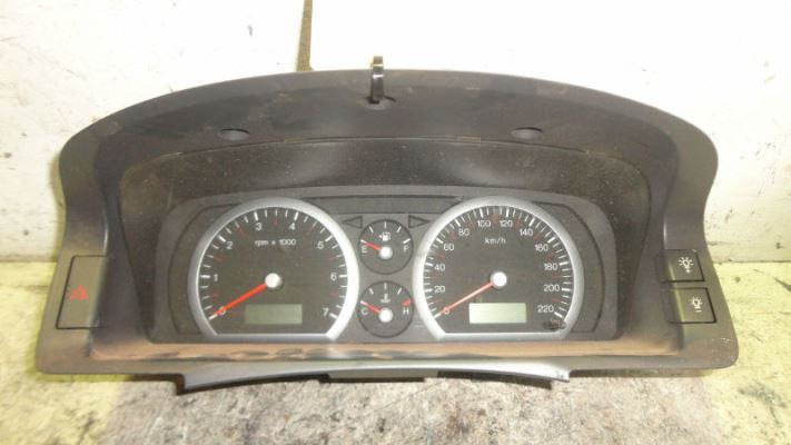 2002 FORD FAIRMONT BA GHIA 4 SP AUTO SEQ SPORTS 4.0L MULTI POINT F/INJ INSTRUMENT CLUSTER