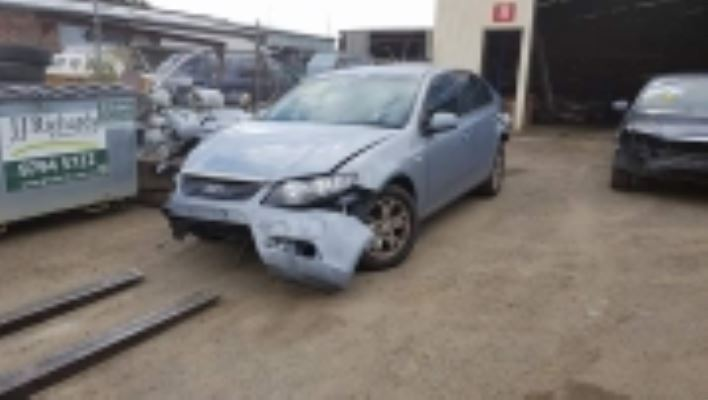 2008 FORD FALCON FG XT 5 SP AUTO SEQ SPORT 4.0L MULTI POINT F/INJ STUB AXLE ABS RF