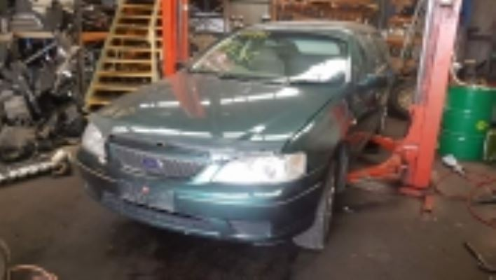 2006 FORD FALCON BF FUTURA (LPG) 4 SP AUTO SEQ SPORTS 4.0L LPG STUB AXLE LF