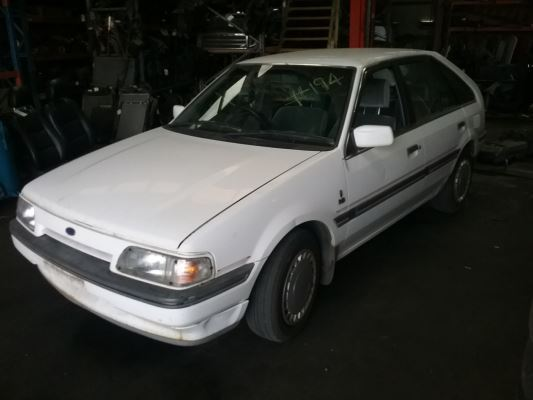 1989 FORD LASER KE GHIA 3 SP AUTOMATIC 1.6L CARB DOOR WINDOW REGULATOR RR