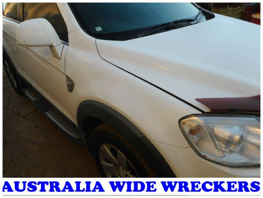 2010 HOLDEN CAPTIVA CG MY10 CX (4x4) 5 SP AUTOMATIC 2.0L DIESEL TURBO F/INJ GUARD RF