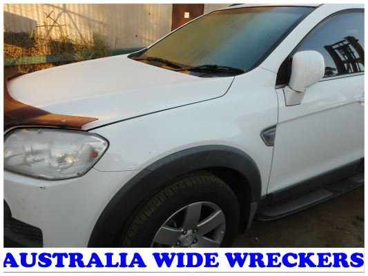 2010 HOLDEN CAPTIVA CG MY10 CX (4x4) 5 SP AUTOMATIC 2.0L DIESEL TURBO F/INJ GUARD LF