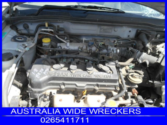 2002 Nissan Pulsar N16 Engine Long