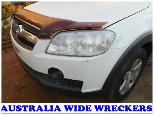 2010 HOLDEN CAPTIVA CG MY10 CX (4x4) 5 SP AUTOMATIC 2.0L DIESEL TURBO F/INJ GRILLE