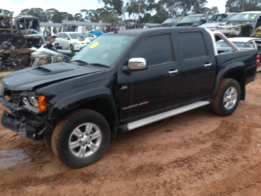 2012 HOLDEN COLORADO RC MY11 LT-R (4x4) 5 SP MANUAL 3.0L DIESEL TURBO F/INJ SHOCK ABSORBERS FRONT (PAIR)