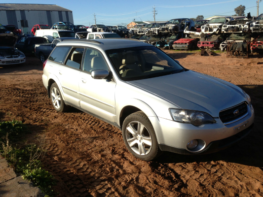 2004 SUBARU OUTBACK MY04 3.0R PREMIUM 5 SP AUTO SPORTS SHIFT 3.0L MULTI POINT F/INJ ALTERNATOR