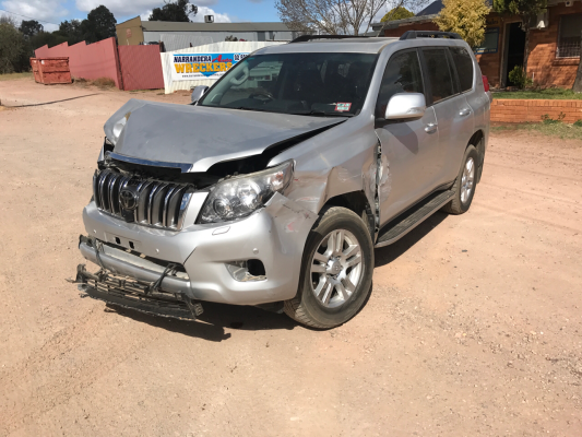 2011 TOYOTA LANDCRUISER KDJ150R PRADO KAKADU (4x4) 5 SP SEQUENTIAL AUTO 3.0L DIESEL TURBO F/INJ ALTERNATOR