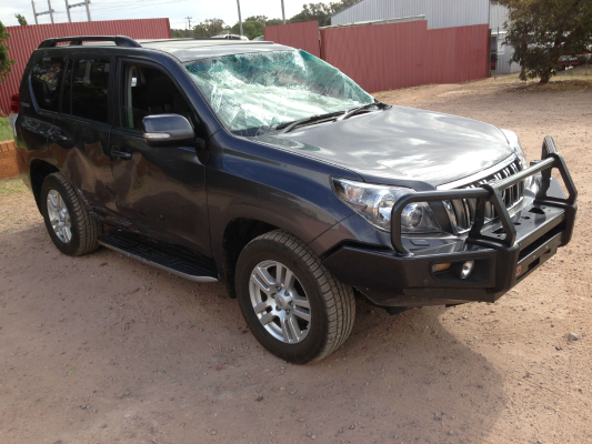 2011 TOYOTA LANDCRUISER KDJ150R PRADO KAKADU (4x4) 5 SP SEQUENTIAL AUTO 3.0L DIESEL TURBO F/INJ DOOR HANDLE OUTER RF