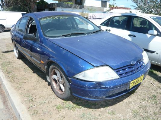 1999 FORD FALCON AU S 4 SP AUTOMATIC 4.0L MULTI POINT F/INJ COMPACT DISC PLAYER