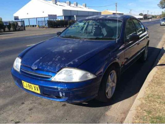 1998 FORD FALCON AU FUTURA 4 SP AUTOMATIC 4.0L MULTI POINT F/INJ DOOR WINDOW REGULATOR ELECTRIC LF