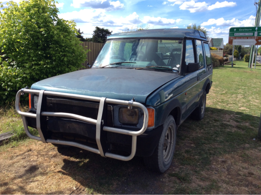 1994 LAND ROVER DISCOVERY V8i (4x4) 5 SP MANUAL 4x4 3.9L MULTI POINT F/INJ BONNET