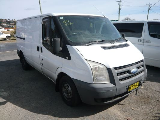 2008 FORD TRANSIT VM LOW (SWB) 5 SP MANUAL 2.2L DIESEL TURBO F/INJ SLIDING DOOR RIGHT