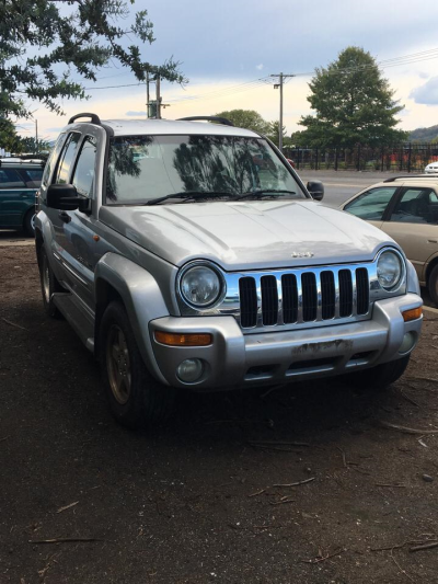 2002 JEEP CHEROKEE KJ LIMITED (4x4) 4 SP AUTOMATIC 3.7L MULTI POINT F/INJ