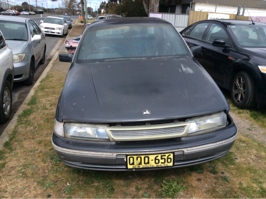 1992 HOLDEN CALAIS VP 4 SP AUTOMATIC 3.8L MULTI POINT F/INJ AIR CON COMPRESSOR