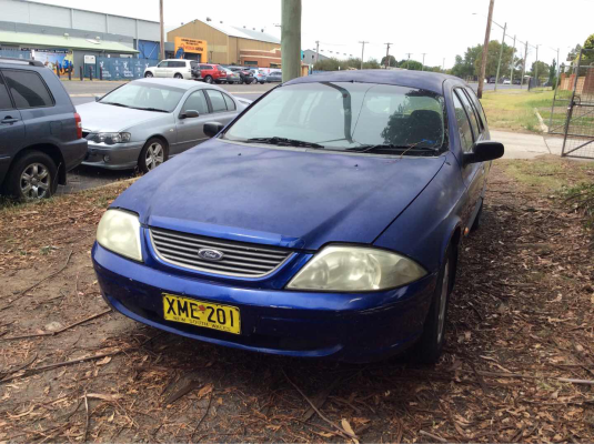 2001 FORD FALCON AUII FORTE (LPG) 4 SP AUTOMATIC 4.0L LPG DOOR RR