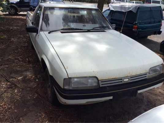 1985 FORD FALCON XF 3 SP MANUAL 4.1L CARB TRANSMISSION/GEARBOX