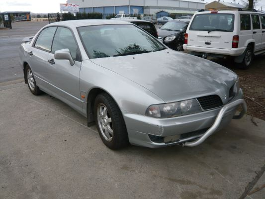 2003 MITSUBISHI MAGNA TJ AWD 5 SP AUTO SPORTS MODE 3.5L MULTI POINT F/INJ DRIVESHAFT RF