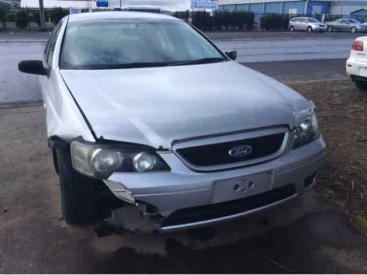 2005 FORD FALCON BA MKII XT 4 SP AUTO SEQ SPORTS 4.0L MULTI POINT F/INJ SEAT BELT LR