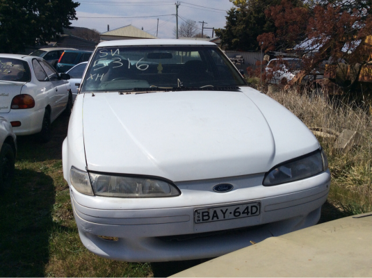 1998 FORD FALCON XH 4 SP AUTOMATIC 4.0L MULTI POINT F/INJ ENGINE LONG