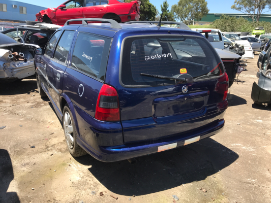 2000 HOLDEN VECTRA JSII GL 4 SP AUTOMATIC 2.2L MULTI POINT F/INJ