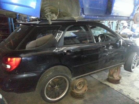 2001 SUBARU IMPREZA MY01 WRX (AWD) 5 SP MANUAL 2.0L TURBO MPFI ENGINE LONG