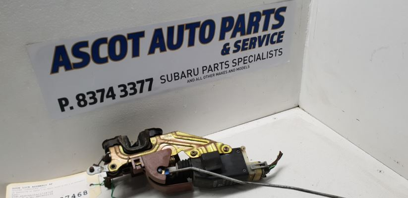 2001 HOLDEN COMMODORE VX EXECUTIVE 4 SP AUTOMATIC 3.8L MULTI POINT F/INJ DOOR LOCK ASSEMBLY RF