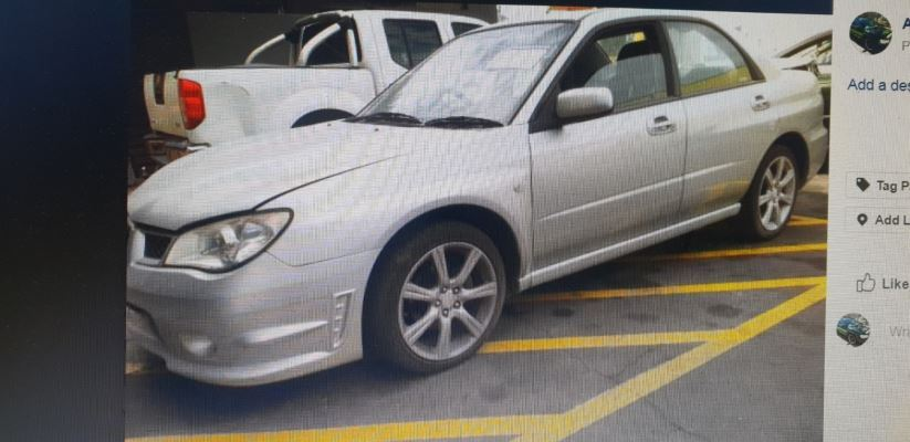 2006 SUBARU IMPREZA MY06 2.0i (AWD) 4 SP AUTOMATIC 2.0L MULTI POINT F/INJ DOOR LF