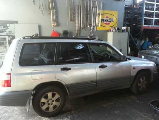 1998 SUBARU FORESTER RX LIMITED ENGINE LONG