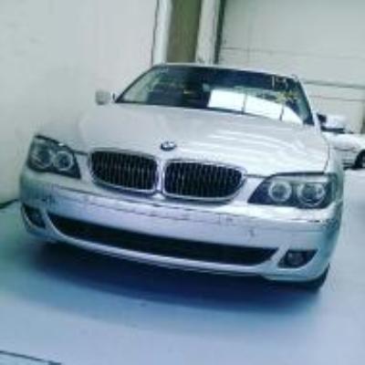 2005 BMW 7 E65 MY05 UPGRADE 40i 6 SP AUTOMATIC STEPTRONIC 4.0L MULTI POINT F/INJ