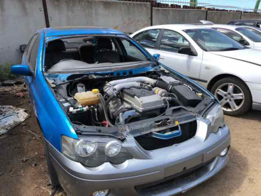 2003 FORD FALCON BA XR6 4.0L MULTI POINT F/INJ TRANSMISSION/GEARBOX
