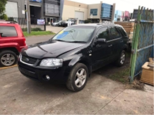 2008 FORD TERRITORY SY MY07 UPGRADE 4 SP AUTO SEQ SPORTSHIFT 4.0L MULTI POINT F/INJ BAR FRONT COMPLETE