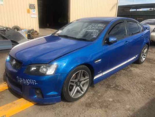 2011 HOLDEN COMMODORE VE II SV6 6 SP MANUAL 3.6L MULTI POINT F/INJ BONNET